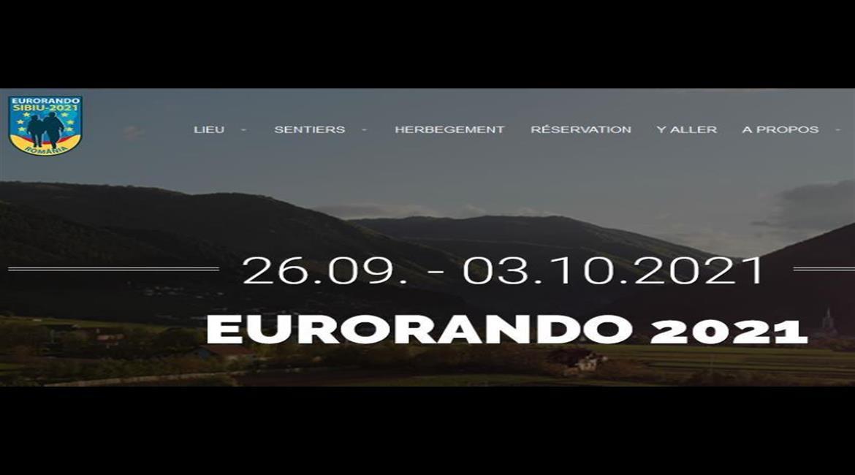 Eurorando 2021 : Rendez-vous en Roumanie du 26 septembre au 3 octobre 2021
